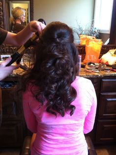 Perfect prom or homecoming hairstyles:)