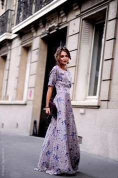 Maxi Dresses 21 Looks glamhere.com Stokholm Street style