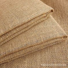 "3 m 10oz Luxury Natural Jute Hessian Burlap Fabric Wedding Craft Upholstery 40"""