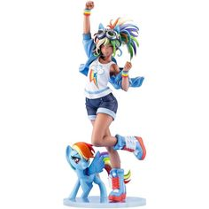 Rainbow Dash, Rainbow Colors, My Little Pony Comic, My Little Pony Drawing, Bishoujo Statue, Character Art, Character Design, Little Poney, Anime Figurines