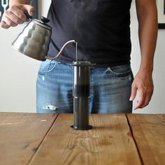 How To Make Coffee: The Perfect Aeropress Technique   Turntable Kitchen