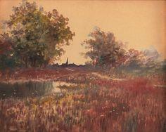 TC Steele paintings -
