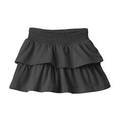 Toddler Girl Jumping Beans Solid Tiered Skort