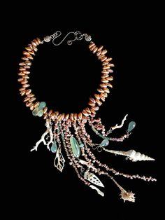 Gretchen Schields Fine Art Jewelry | www.gretchen-schields.com | Coral necklace