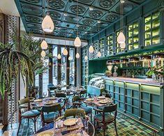 Cantinero Di Cuba inspired by colonial architecture | Restaurants | Interior Design | Decor | Decoration