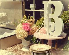 Vintage tea party Bridal/Wedding Shower Party Ideas | Photo 2 of 18