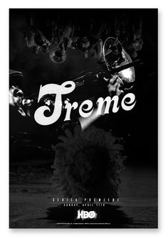 Treme - back on, thank God.  Why doesn't HBO market Treme the way they market their other dramatic series (like, 2-3 months in advance!)  I ♡ TREME!
