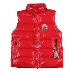 125ceab48e1a France Moncler Clairy Dowe Sleeveless Red Vest Men Online Sales http   www.