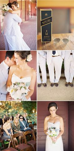 LOVE all the attire and I am doing the burlap for bouquets!