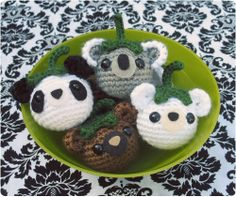 Free Japanese Amigurumi Patterns | free amigurumi pattern for bears | Thinng