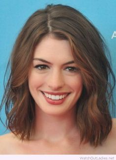 Amazing Anne Hathaway hair look