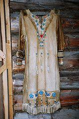 Athabaskan Indian,AK: Here's a beautiful dress from Alaska!