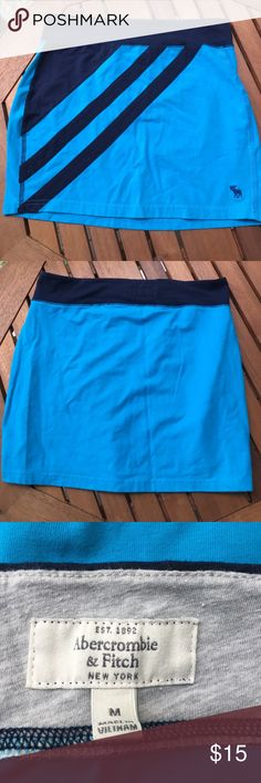 Medium Abercrombie and Fitch blue mini skirt Medium Abercrombie and Fitch blue mini skirt Abercrombie & Fitch Skirts Mini
