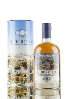 This vatting from Bruichladdich distillery was the first and also the last in the series of limited edition bottlings - 'Celtic Nations'. Combing Cooley Irish whiskey and Bruichladdich single malt from Islay, the SWA quickly banned the practise of mixing spirits from different nations, making this the one and only release in the series.