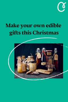 Keen on having a greener Christmas? Want to avoid the consumerist Christmas rush and take some time with your gifting this year? Whether it's a pot of jam, a box of cookies or a bottle of sloe gin, making your own edible gifts, is a great way to do just that. You might be surprised to learn just how easy it can be, too. Here are our favourite recipes for homemade Christmas gifts, for both keen and lazy cooks alike. Make Your Own, Make It Yourself, How To Make, Sloe Berries, Kitchen Games, Gin Gifts, Cranberry Vodka, Fresh Cranberries, Edible Gifts