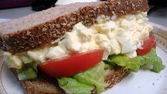 Deviled Egg Salad Sandwich