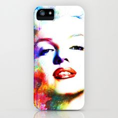 Marilyn Monroe iPhone Case by Michael Akers - $35.00    WANT.