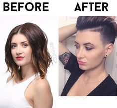 Before or After? After all the way, sexy, stylish different, exciting, mysterious, adventurous