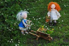 Muñecas jardineras. | Manualidades