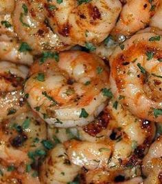 "Recipe For Ruths Chris Steak House BBQ Shrimp Orleans - Sautéed New Orleans style in reduced white wine, butter, garlic and spices, drenched with a delicious barbecue butter. Say it with me.... ""Om................"