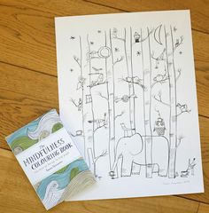 Un Petit Blog by Emma Farrarons: THE MINDFULNESS COLOURING BOOK: Anti-stress art therapy for busy people