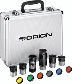 "Orion Premium Telescope Accessory Kit 1.25"" Eyepiece Filters Barlow Lens Case #ORION"