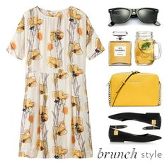 """Brunch Style"" by lgb321 ❤ liked on Polyvore featuring Toast, Tom Ford, Chanel, Ray-Ban and MICHAEL Michael Kors"