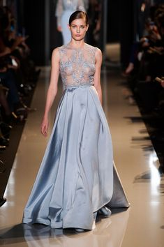 Elie Saab - Haute Couture - Spring 2013 - Spring 2013's Most Beautiful Haute Couture Gowns - StyleBistro