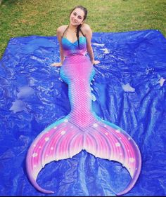 mermaid tail - unsure of maker