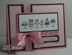 Stampin' Up! - Birthday Bakery / Papercraft - Juxtapost