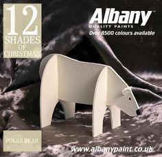 Polar Bear from Albany Paint.  www.albanypaint.co.uk