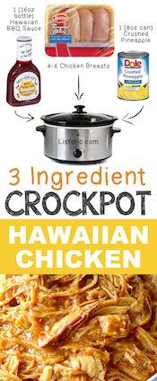 3-Ingredient-Crockpot-Hawaiian-Shredded-Chicken