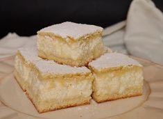 Citromhab: Túrós pite Cheese Pies, Cooking For A Crowd, Cottage Cheese, Cornbread, Vanilla Cake, Feta, Dessert Recipes, Pie Dessert, Sweet Treats