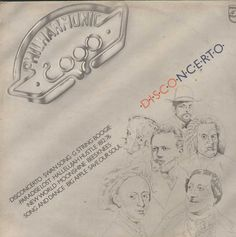 Philharmonic 2000 Disconcerto English Vinyl LP