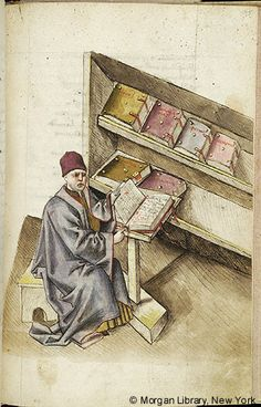 Literary, MS M.763 fol. 195r - Images from Medieval and Renaissance Manuscripts - The Morgan Library & Museum
