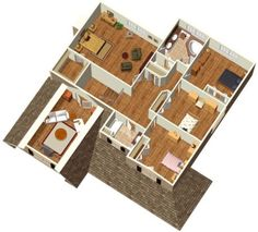 1000  images about House Plan on Pinterest  Bedroom