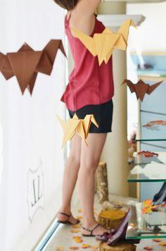 Montando los escaparates de la tienda, origami, wondershoes, wonders, 24 horas,