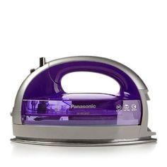 Panasonic 360 Freestyle Cordless Iron with Carrying Case PURPLE
