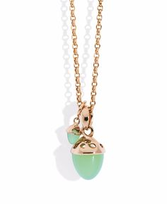 Tamara Comolli apple chalcedony pendants, $770 and $4,080, tamaracomolli.com   - TownandCountryMag.com
