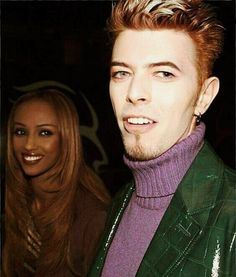 Iman And David Bowie, David Bowie Music, David Bowie Starman, Bisexual Celebrities, Blue Soul, Stone Age Man, Rock Star Outfit, Martina Mcbride, Pretty Star