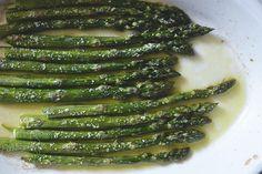 Pieczone szparagi | Obiad w 20 minut | Kuchnia Bazylii