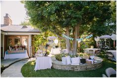 sweet backyard bridal shower - Brooke Photography & Design