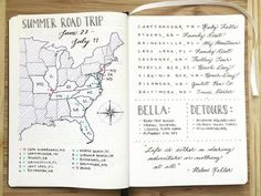 Planning a Trip? Here are 10 Bullet Journal Page Ideas To Help You Plan and Organize the Journey Two of my favorite things: Travel and Bullet Journals! I feel like planning a trip can be just as fun as the actual trip. Journal Layout, Art Journal Pages, Travel Journal Pages, Journal Stickers, Bullet Journal Vidéo, Bujo, Weekly Log, Bulletins, Travel Scrapbook