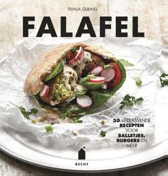 Griekse falafel met tzatziki uit het boek Falafel van Dunja Gulin. Lekker met platbrood, citroen en koriander.
