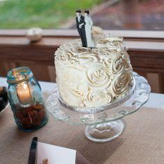 Charming Wedding Cake