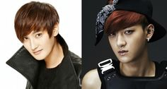 Top Korean Celebrity Look-Alikes H.O.T's Kangta  EXO's Tao