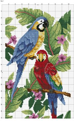 Gallery.ru / Фото #2 - *** - lenadep Cross Stitch Fruit, Cross Stitch For Kids, Cross Stitch Heart, Cross Stitch Borders, Cross Stitch Animals, Cross Stitch Designs, Cross Stitching, Cross Stitch Embroidery, Embroidery Patterns