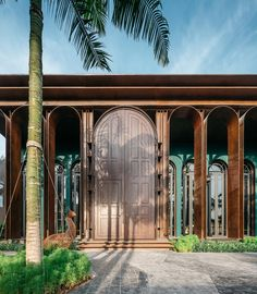 New Classical Architecture, Colonial Architecture, Classic Architecture, Facade Architecture, Concept Architecture, Facade Design, Exterior Design, Modern Buildings, Art Deco