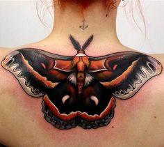 Fantasy Butterfly Tattoo   #Tattoo, #Tattooed, #Tattoos