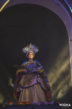 Oratório de Sta Luzia 2016. Joyce Marinho como Luzia. Direção Luciana Duarte Música Danilo Guanais Dramaturgia e figurinos João Marcelino.